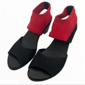 Arche sandal low heel stretch ankle comfort 40